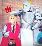 Edward and Alphonse Elric cosplay by MissWeirdCat