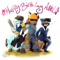 Anets B Day (gift) by lazyfoxxx
