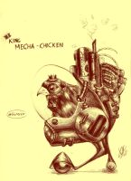 King Mecha-Chicken by crophecy