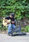 Me and My Epiphone Dregen Guitar outside playing by danktat