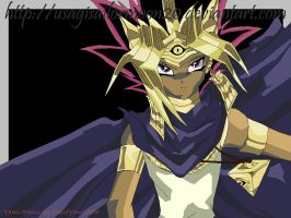 Yami Atemu by CupidYamiVolta Wallpaper by usagisailormoon20