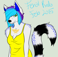 2015 Anthro/Feral Redesign by ToriFlame