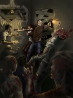 Zombie Attack by Dahamon