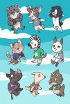 Villagers Everywhere by go-ccart