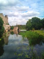 Warwick Castle by BenG-art