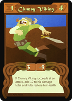 Clumsy Viking (09/43) by Duckmuffin