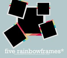 RAiNBOWfRAMES by SweetPhotoEdition