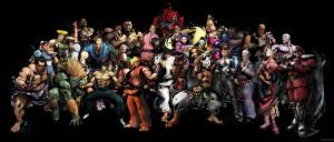 Street Fighter IV Collab by griever-m3n