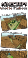 MC Ghetto custom parkour map with HUGE update by MikasDA