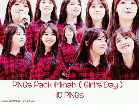 PNGs Pack Minah ( Girl's Day ) by embekute257