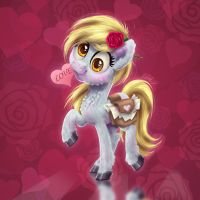 Hearts and Hooves Derpy by Helmie-D