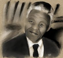 Mandela by GallienA