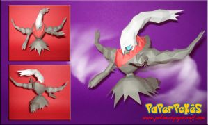Darkrai Papercraft by Carnilmo