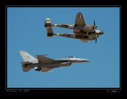Viper and Twin-forked Devil by jdmimages