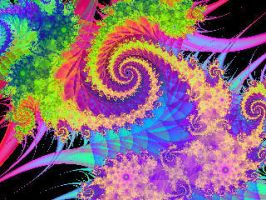 Gust of Color Fractal by Skymouth