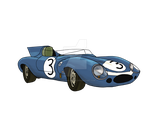 1957 Jaguar D-type by IXI-Eric-The-Red-IXI