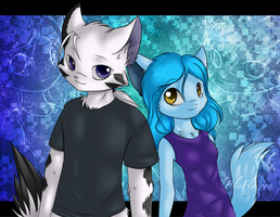 Adres and Laura by ElyFlycorn