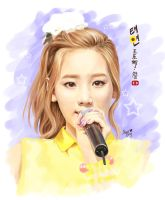 taeyeon twinkle by anosa228