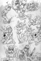 One page full of Meg Griffin by Christo-LHiver