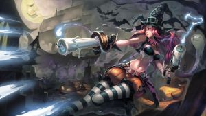 [LOL] Miss Fortune Halloween by iorlvm