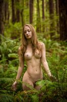 In the forest with Melissa Ann by ImpressionofLight
