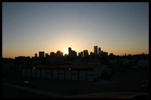 skylines and turnstyles by DrewDahlman