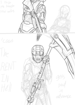 Unfinished: Paybay by sketchingchaos