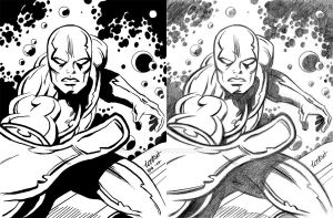 Loston's Silver Surfer by LucGrigg