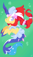 Unicorn Mermaid by ChatotLover448
