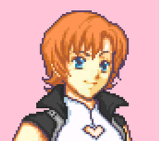 Nora Valkyrie pixel by Ronku