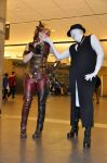 Sexual Offender Man and Harley Quinn 2 by sammy202