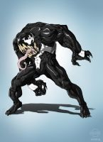 Venom Sketch (Color) by dorets