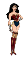 JLU Wonder Woman Dawn of Justice by Alexbadass