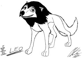 My Alpha and Omega OC - Leo by MortenEng21