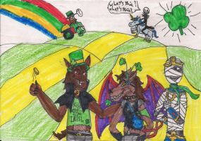 welcome to St. Patrick's town by digirobotphantom10