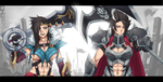 Draven and Darius by Exaxuxer