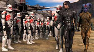 Reviewing the clone troopers by poopopopero