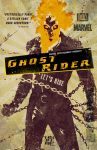 Ghost Rider Illustrated Movie Poster by nicolehayley