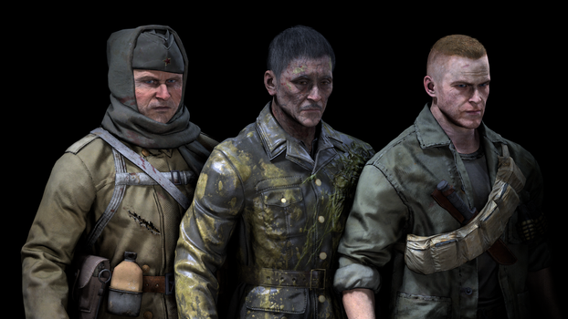 [SFM] 2.0 Crew (without Richtofen) - Black Ops 3 by Jacob-LHh3
