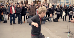 dancing niall by convict123