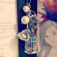 Hand-made Locket Necklace by Lilkpopean