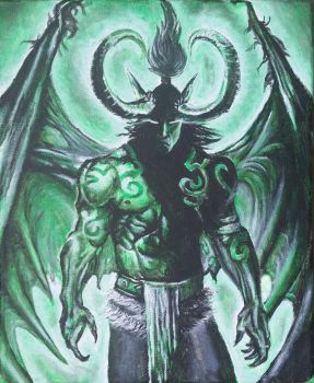 Illidan by Sippykittycups