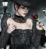 Gothic Beauty by Kaleya