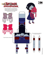 181###Marceline Young and Hambo by HORZZZA