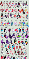 Unsold Foals Batch 1 by karsisMF97