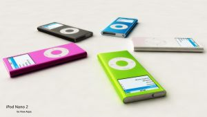 iPod Nano 2 by view