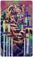 Tarot : EIGHT OF SWORDS by leptailurus-serval