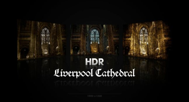 Liverpool Cathedral HDR by wurstgott