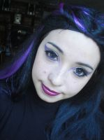 Raven Queen - Test Make up - Ever After High by juliettebelle