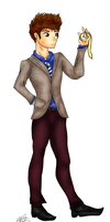 Commission: Test Drawing #4, Winston Salloom by Audreyfan1001